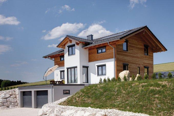 Tradition in modern massivholzhaus von sonnleitner haus bau