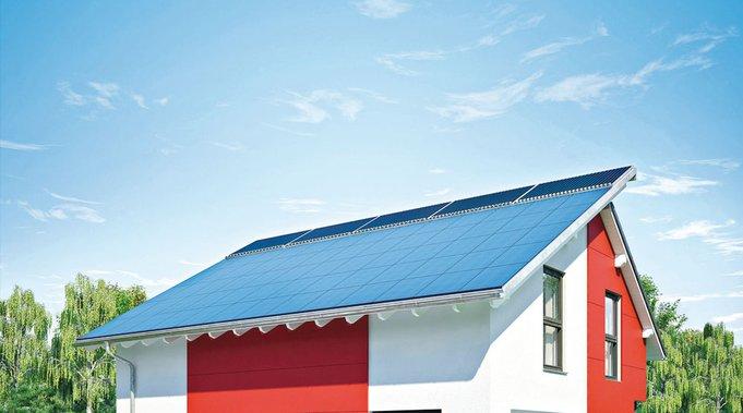 Photovoltaikanlage (Foto: Weberhaus)