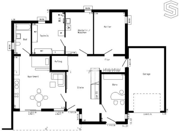 Schwörer moderne villa plan 765 haus bau zuhause3 de