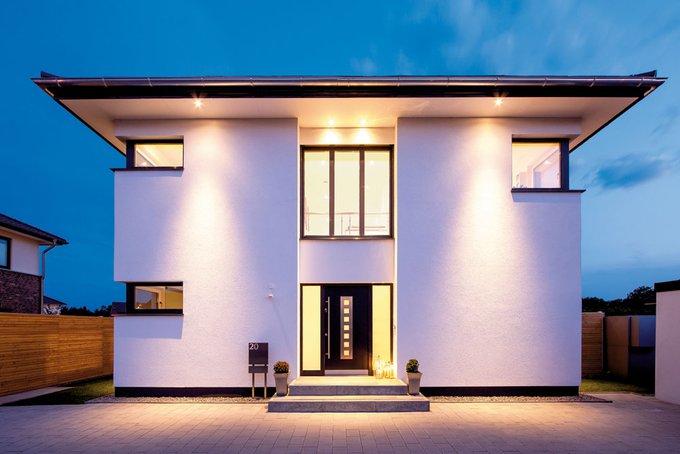 Ein modernes, funktionales und designorientiertes Einfamilienhaus mit offenen Räumen und viel Luft zum Atmen.