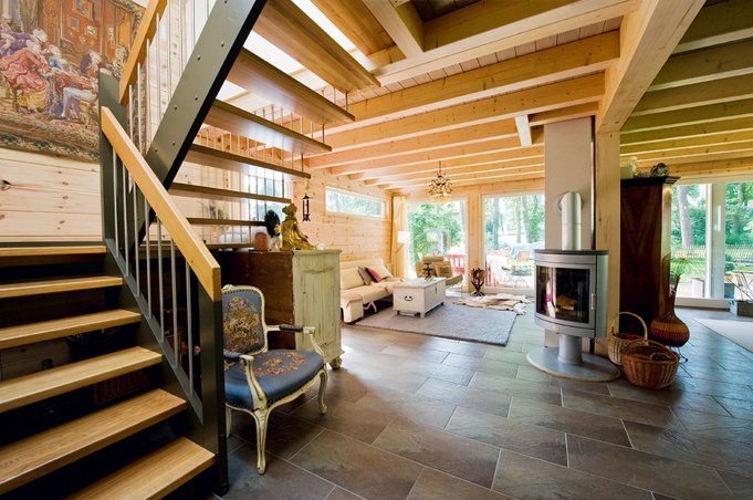 Blockhaus im grünen von fullwood haus bau zuhause3 de