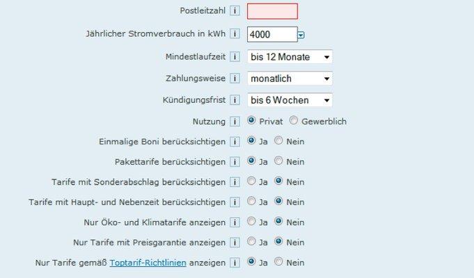 So finden Sie den richtigen Anbieter. (Bildquelle: Toptarif.de)