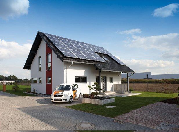 """Plusenergiehaus """"VIO 400"""" von Fingerhaus"""