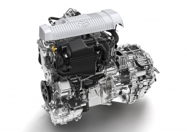 Hybridantrieb des Toyota Yaris (Foto: Toyota)