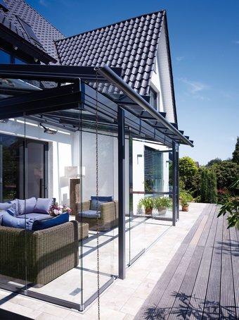 wintergarten oder überdachte terrasse? beides! | garten & grün, Garten und Bauen