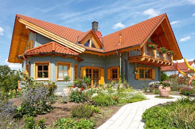 Modernes blockhaus burgstall von rems murr haus bau zuh