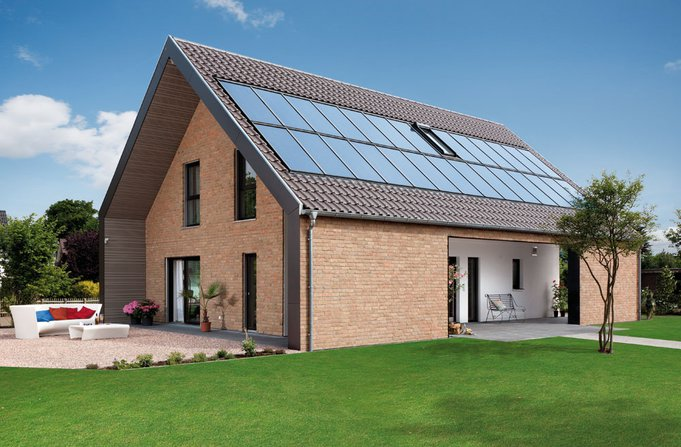 """""""Energieplus-Haus Plan 560"""" von SCHWÖRER"""