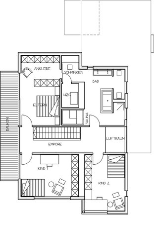 ^ - Modernes infamilienhaus