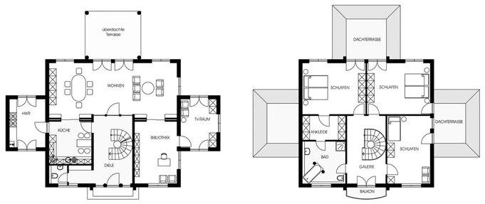 Moderne villa 900kl von arge haus haus bau zuhause3 de