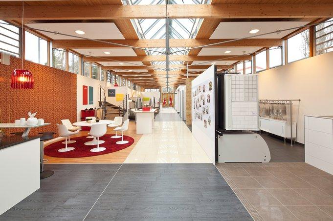 Bemusterung – So gehen Bauherren einkaufen! (Foto: Luxhaus)