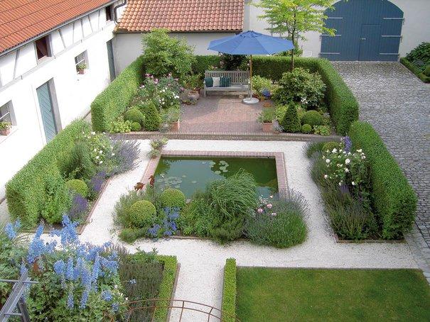 gestaltungsideen für einen mediterranen garten | garten & grün, Garten und Bauen