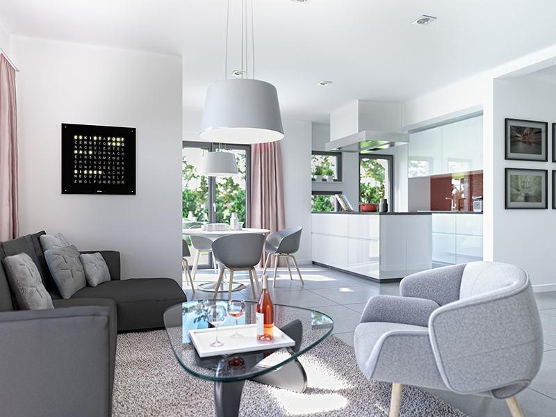 Wohnküche Solution 87 V2 von Living Haus