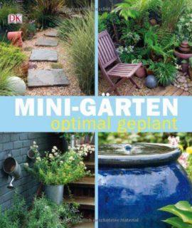 Buchtitel mit vier Gestaltungsideen eines Gartens