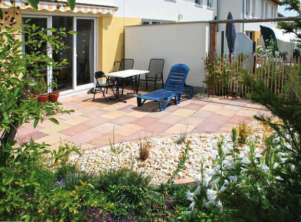 Gartengestaltung Für Reihenhäuser Skizze – Gartenhaus Bauen ...