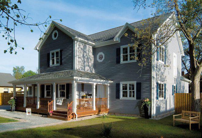 23 jahre bostonhaus mit amerikanischen holzh usern. Black Bedroom Furniture Sets. Home Design Ideas