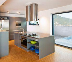 Küchenidee im Baufritz-Haus Inspiration