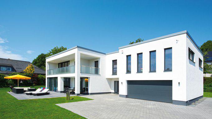 Entwurf k hn von b denbender for Haus klassisch modern