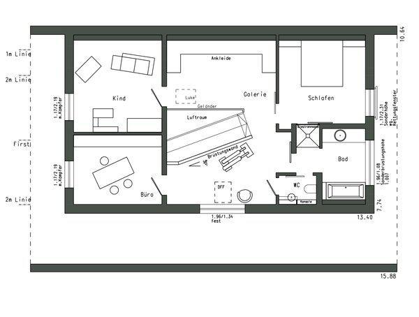 entwurf plan 560 von schw rerhaus. Black Bedroom Furniture Sets. Home Design Ideas