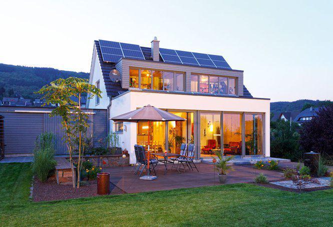 clever weil mit anbau einfamilienhaus figgen von becker haus. Black Bedroom Furniture Sets. Home Design Ideas