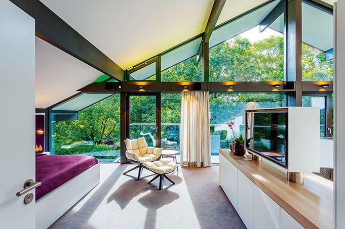 Huf haus art 6 von huf haus stil und hightech for Haus innen planen