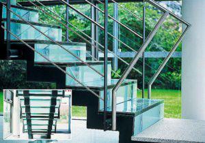 Glastreppe (Foto: Sprinz)
