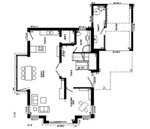 stadthaus plan 651 1 von schw rerhaus. Black Bedroom Furniture Sets. Home Design Ideas