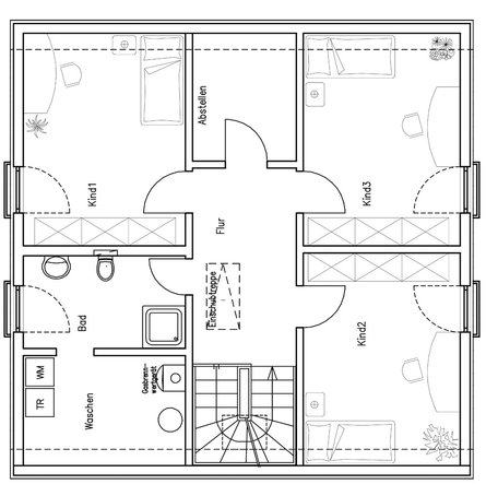 house-1089-grundriss-dachgeschoss-moderner-hausentwurf-mueller-von-fertighaus-weiss-1