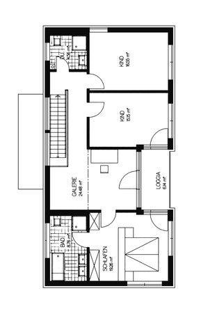moderne bauhaus villa von haacke haus. Black Bedroom Furniture Sets. Home Design Ideas