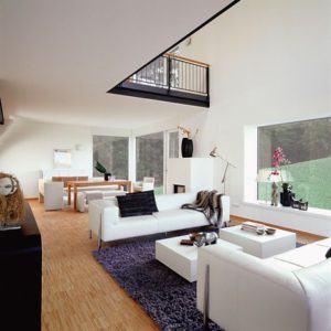 Wohn-Essbereich im Haus Eisner