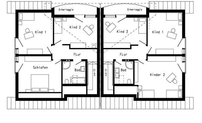 Modernes landhaus plan 420 3 von schw rerhaus for Modernes haus plan