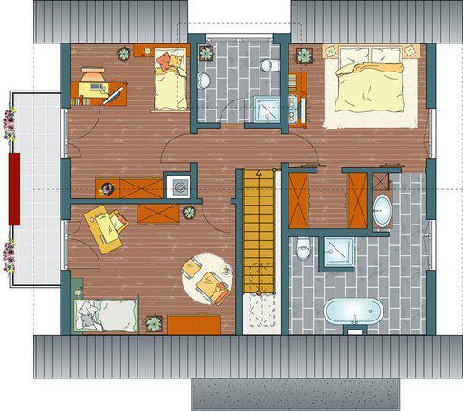 house-1736-grundriss-dachgeschoss-fingerhaus-modernes-energiesparhaus-aveo-411-1