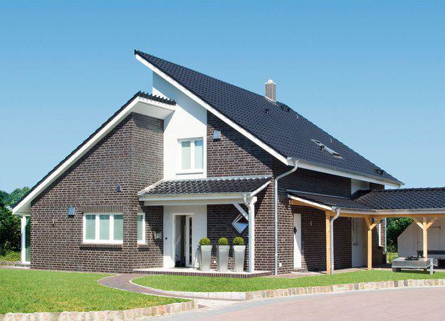 Modernes einfamilienhaus variovision 156 von varioself for Modernes einfamilienhaus grundriss