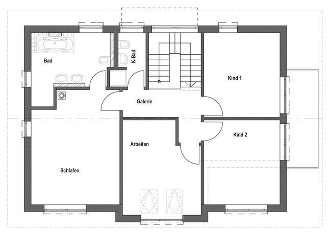 entwurf homestory 032 von lehner haus. Black Bedroom Furniture Sets. Home Design Ideas