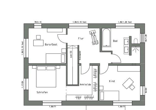 Plusenergie fertighaus plan 550 von schw rerhaus for Was kostet ein flying spaces haus