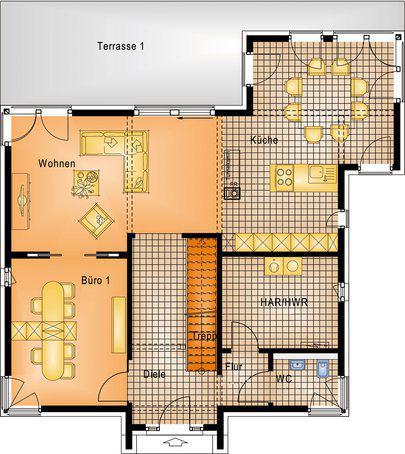 stadtvilla frechen von okal. Black Bedroom Furniture Sets. Home Design Ideas