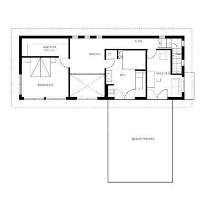 elegante villa im bauhaus stil von haacke haus. Black Bedroom Furniture Sets. Home Design Ideas