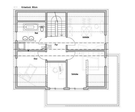 Modernes einfamilienhaus ziegler von fertighaus weiss for Modernes einfamilienhaus grundriss