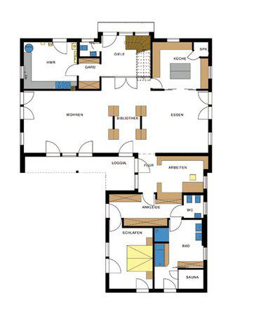 sonderentwurf in winkelbauweise von haacke haus. Black Bedroom Furniture Sets. Home Design Ideas