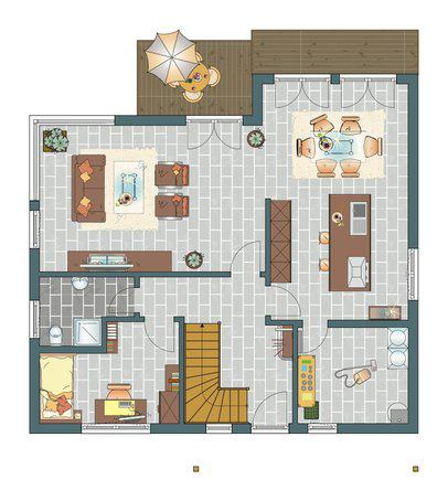 Fingerhaus grundrisse  Entwurf