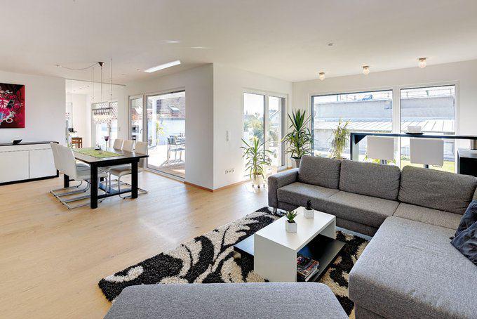 gradlinig holzhaus der moderne von sonnleitner. Black Bedroom Furniture Sets. Home Design Ideas