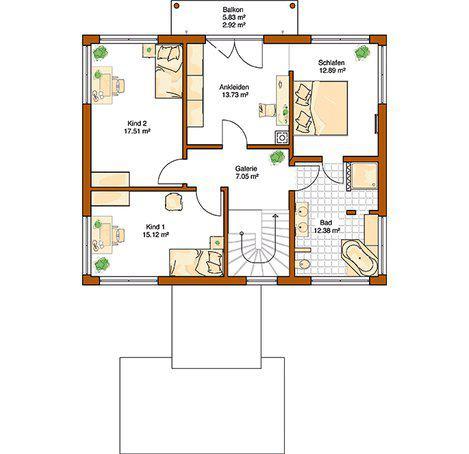 house-2192-der-grundriss-im-obergeschoss-des-fertighauses-ventura-von-rensch-haus-1