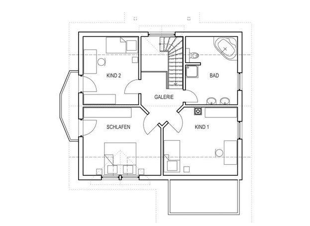 Moderner entwurf lingental von keitel haus for Modernes einfamilienhaus grundriss