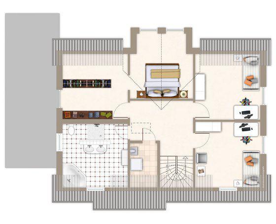 Architektenhaus hochfeld von gussek haus for Architektenhaus grundriss