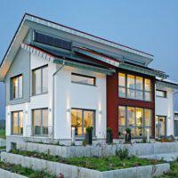 plusenergie musterhaus style von fertighaus weiss. Black Bedroom Furniture Sets. Home Design Ideas
