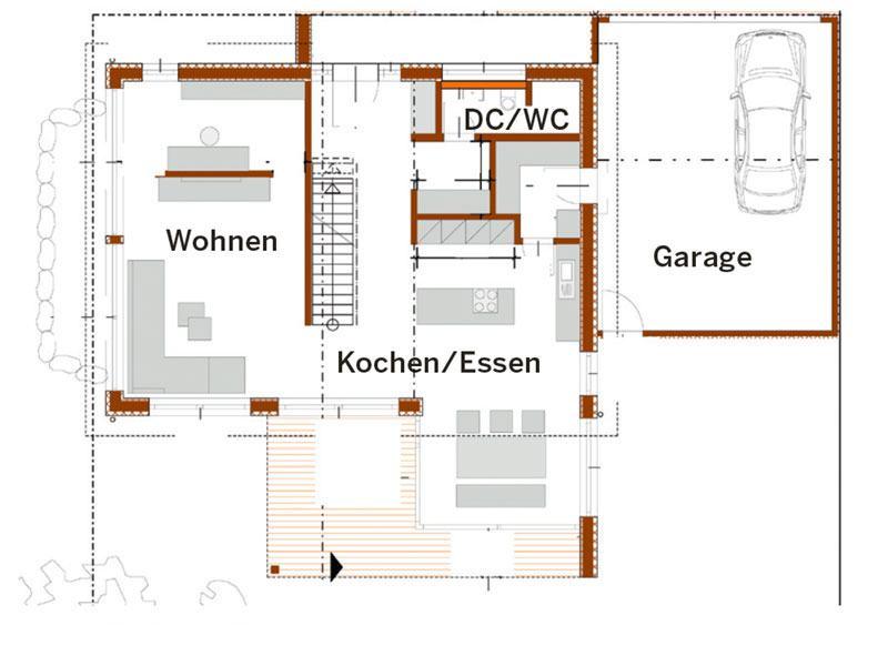 Erdgeschoss Bittermann und Weiss