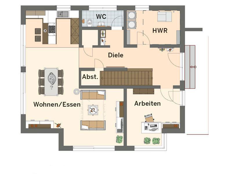 Fingerhaus grundrisse  Entwurf Musterhaus Neo von FingerHaus | zuhause3.de