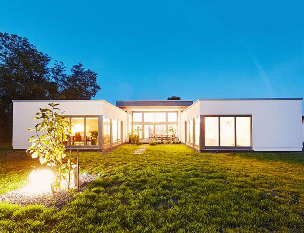 Entwurf Piemont von Gussek Haus Außenansicht