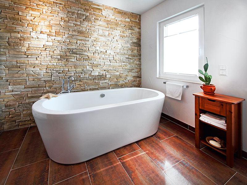 Badezimmer Haus Weingarten von Keitel-Haus