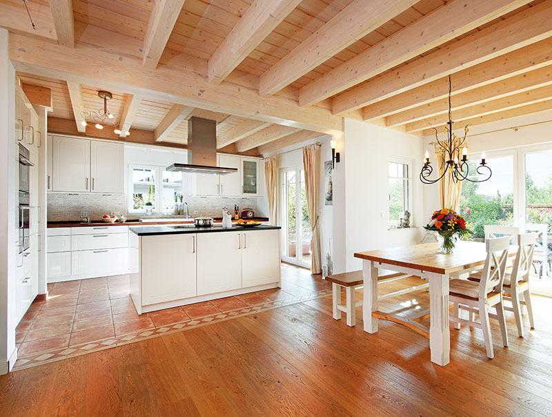 Koch- und Essbereich Haus Weingarten von Keitel-Haus