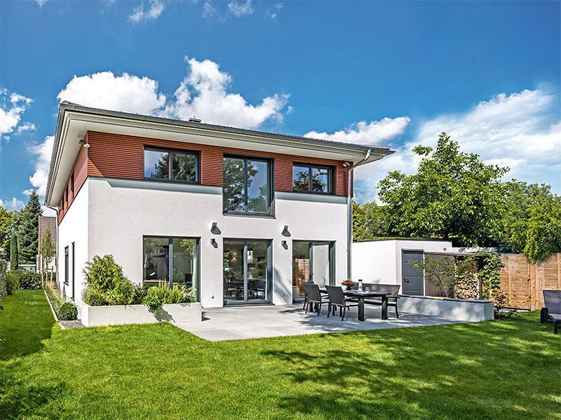 Außenansicht Haus München von Regnauer Hausbau